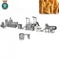 Single screw frying food processing line、Frying pellets food extruder