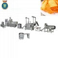 Bugles frying snacks machine/ frying snacks food processing line