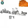 Bugles frying snacks machine/ frying snacks food processing line