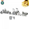 Single screw frying food processing line