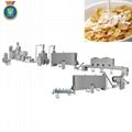Corn flake machine/ breakfast cereal machine by dingrun company