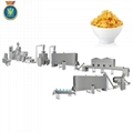 Breakfast cereal corn flakes processing line
