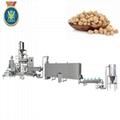 Textured soyabean protein extruder machine
