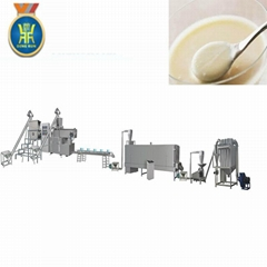 Puffed rice powder processing line/Nutrition powder extruder