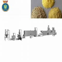 Artificial rice making extruder machine