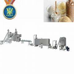 Modify starch processing machinery