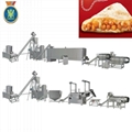 Corn curls snacks food making machine
