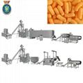 Corn curls snacks food making machine