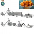 Baked puffed  corn curls food extruder machine