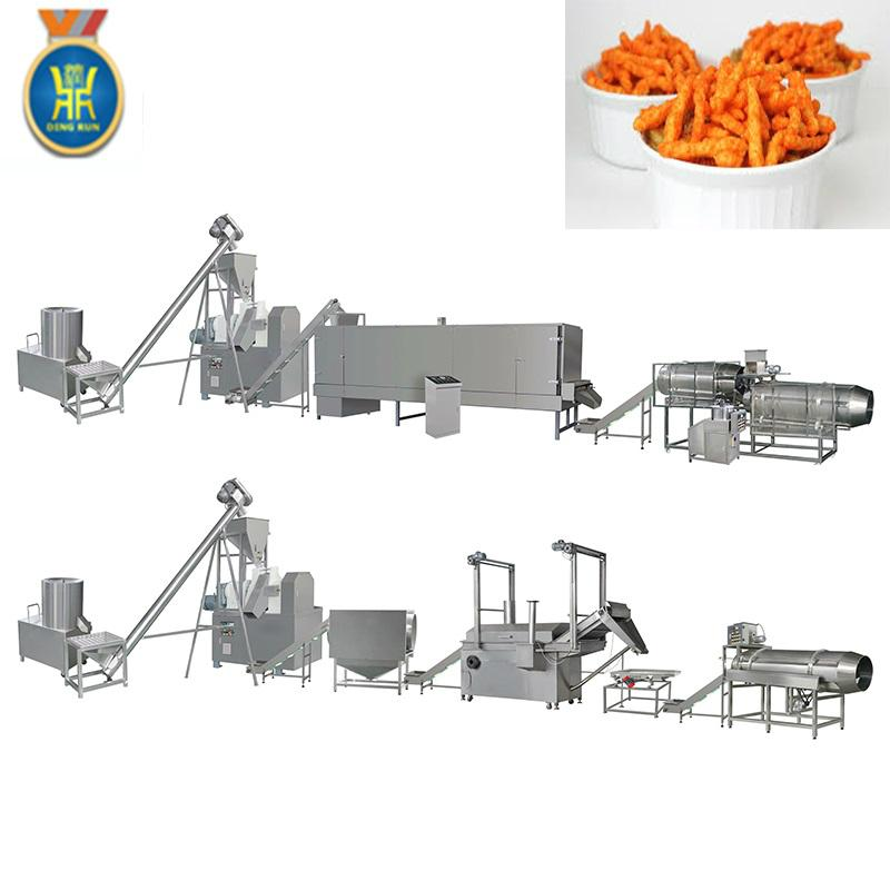 玉米粟米條膨化設備 1
