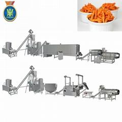玉米粟米条膨化设备