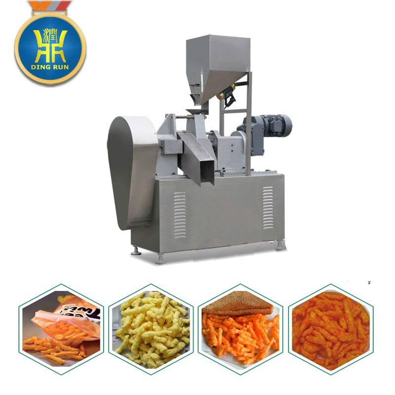 玉米粟米條膨化設備 4