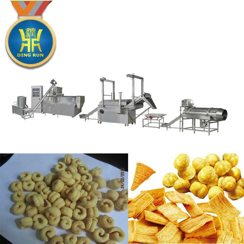 玉米粟米條膨化設備 6