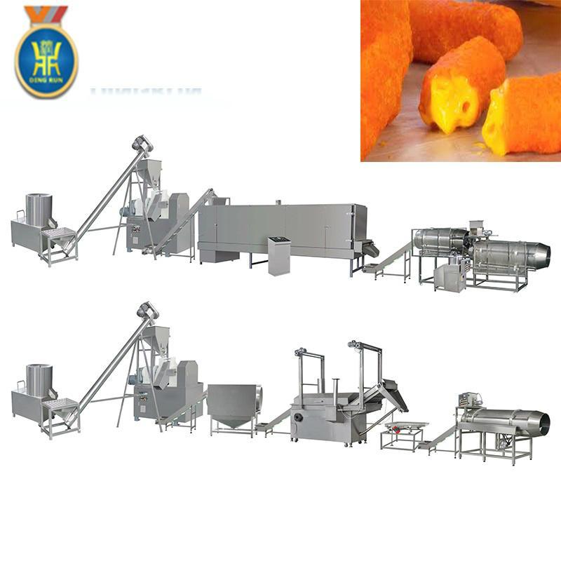 玉米粟米條膨化設備 7