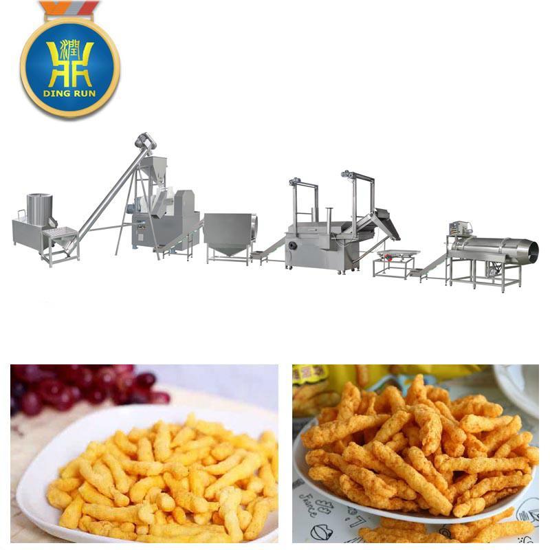 玉米粟米條膨化設備 9