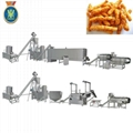 Corn curls extruder machine / Corn snacks food making machine / Food extruder