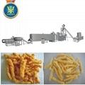 Extruded Corn twist curl Snacks Food Machines