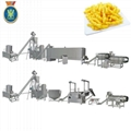 Niknaks/cheese curls food machinery