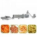 Corn curls food machine