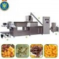 玉米膨化夾心米果加工機械設備市