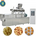 Puff corn food extruder machine