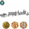 Puff corn snacks processing line