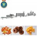 Corn puff snacks processing line