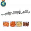 Puffed snacks food production line