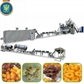 Cheese ball/ring puff food extruder