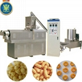 Maize corn snacks food extruder line