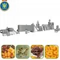 Maize corn snacks food extruder
