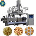 Newest puffed snacks food processing line machines
