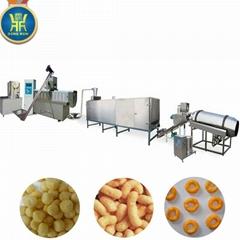 Cheese balls snacks food machine extruder