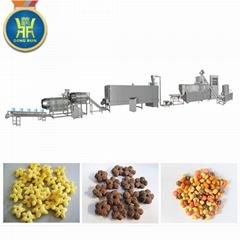 Puffed corn rice snacks processing machinery