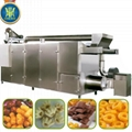 Extruded snacks food production line