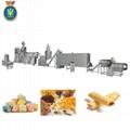 Snacks food extruder machine