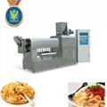 Single screw pasta food extruder