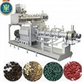 double screw fish food extruder
