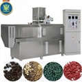 Single screw fish food extruder machine/fish food pellet machine