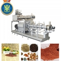 Single screw fish food extruder machine/fish food pellet machine