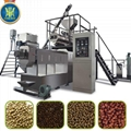 Floating fish feed processing line/Tilapia feed pellet extruder
