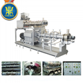 Dog food extruder machinery