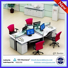 hot sale! frameless glass office partition system