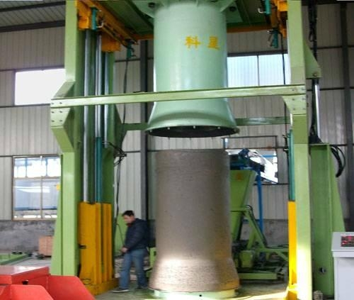 Full-automatic Vertical Vibration Casting Pipe mchine