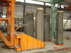 New Vertical Vibration Pipe machine for