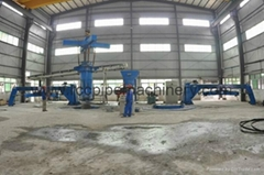 Vertical Vibration Casting pipe machine