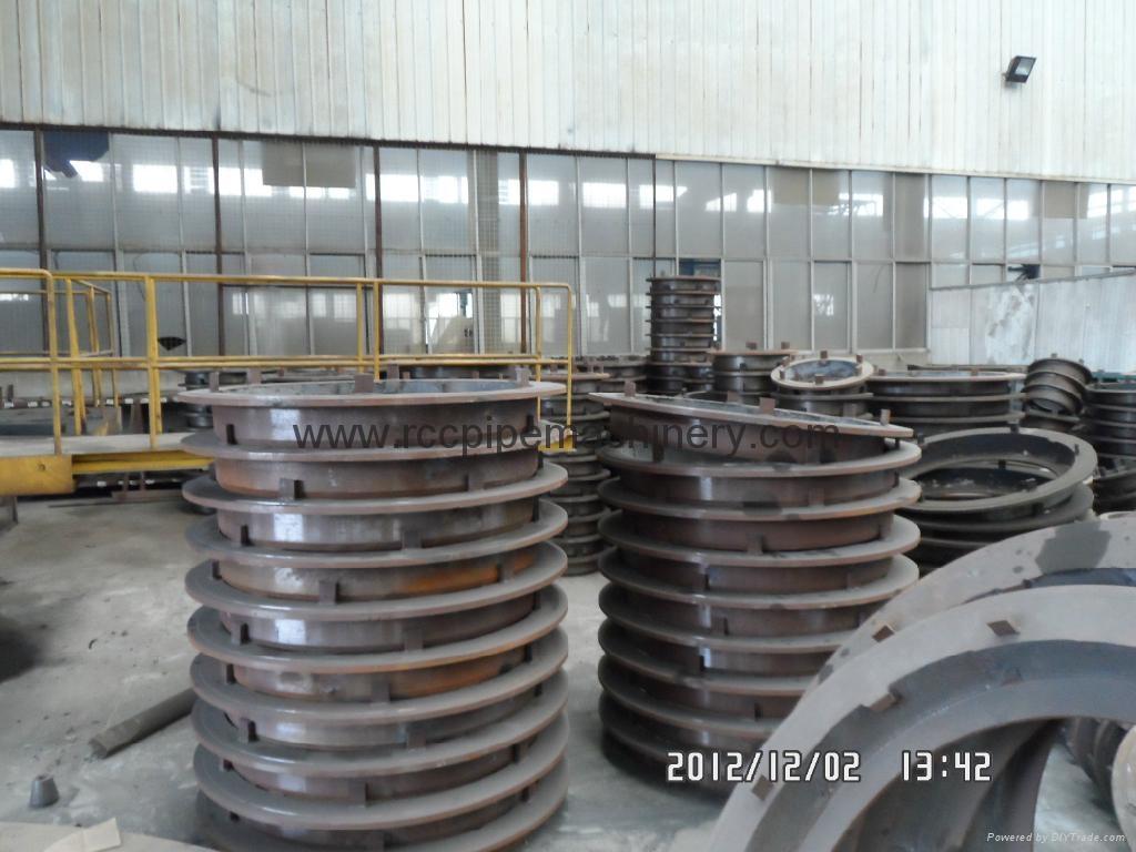 Cast Iron Bottom Pallets 300-3600mm diameter for Vertical Vibration casting pipe