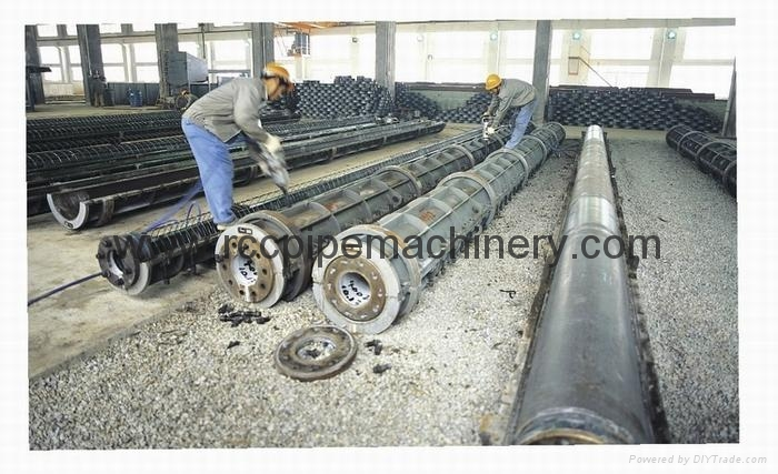 Spun Concrete Pile Making Machine For Construction