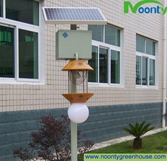 Solar Mosquitoes Insect Pest Bug Killer Lamp LED Light