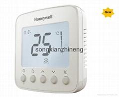 霍尼韦尔TF228WN数字式温控器连三速开关